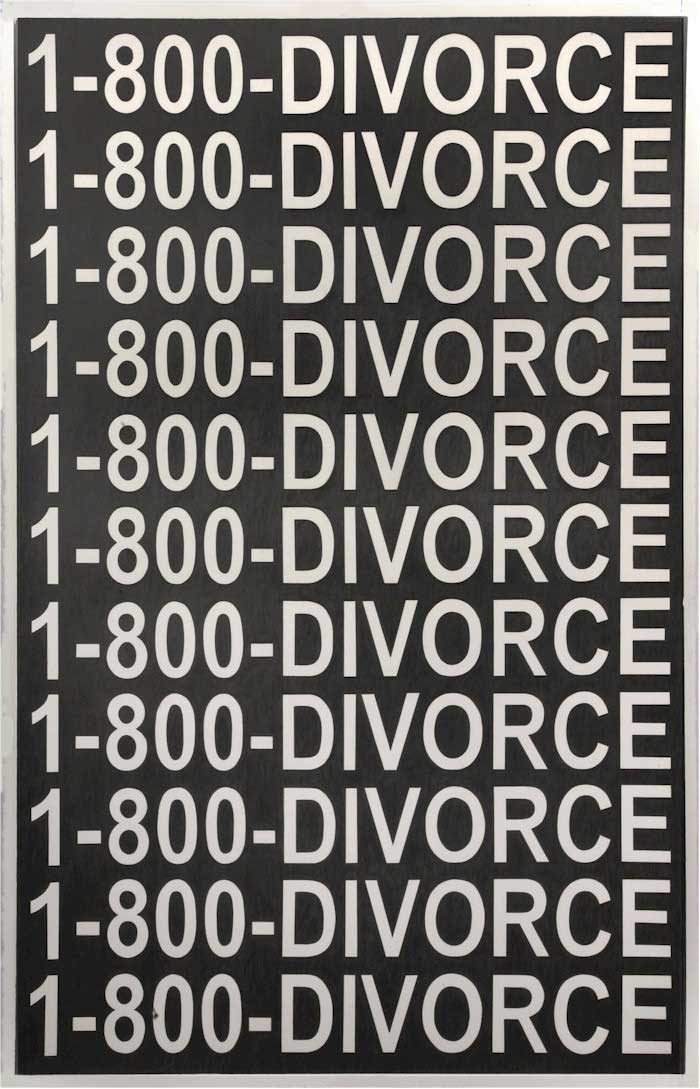 Some 1-800-DIVORCE Art
